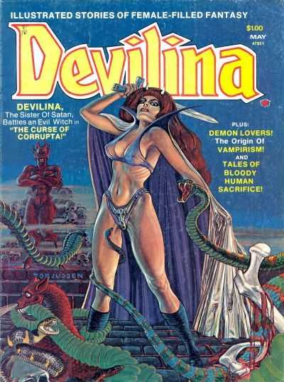 Devilina, Issue 2, May 1975