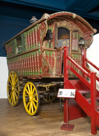 Gypsy Caravan at Bristol Museum