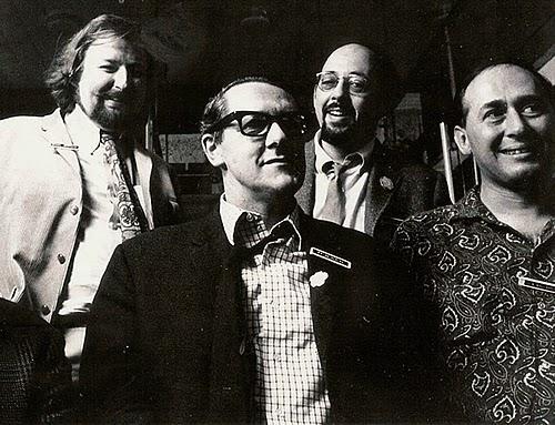 michael moorcock brian aldiss mike kustow j g ballard brighton arts festival 1968