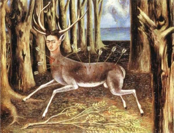 Frida Kahlo - The Wounded Deer 1946
