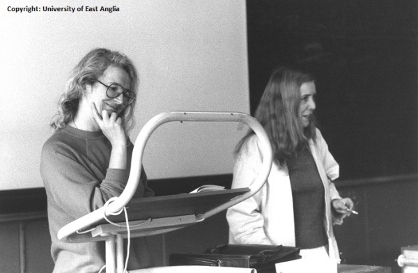 Angela Carter and Lorna Sage