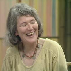 Angela Carter Laughing 2