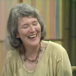 Angela Carter Laughing 2